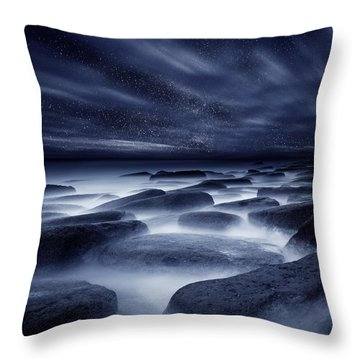 Morpheus Kingdom Throw Pillow by Jorge Maia