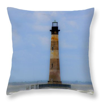 Sand Sea And Whimsey Throw Pillow by Dale Powell