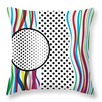 Morris Like Pop Art Throw Pillow