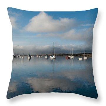 Morro Bay - 2433 Throw Pillow