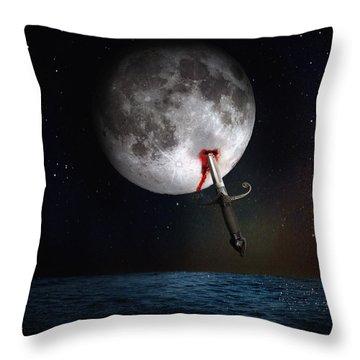 Morte Di Un Sogno - Dying Dream Throw Pillow