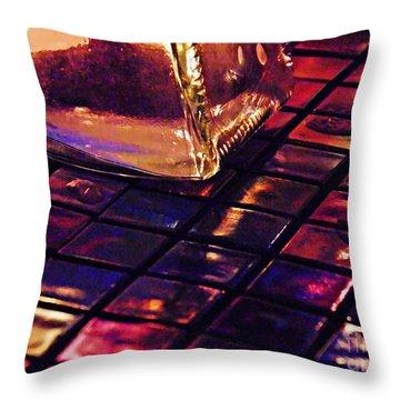 Mosaic 9 Throw Pillow by Sarah Loft
