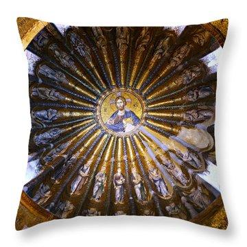 Byzantine Icon Throw Pillows
