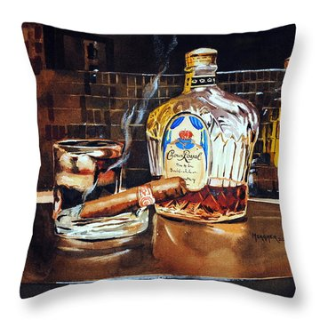 Mosaic Reflections Throw Pillow by Spencer Meagher