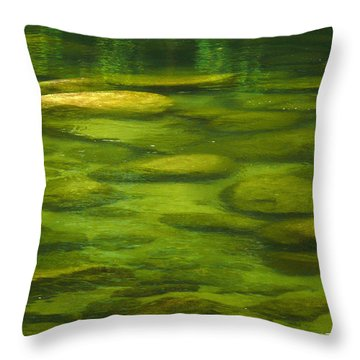 Throw Pillow featuring the photograph Mossman by Evelyn Tambour