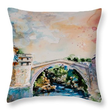 Mostar Throw Pillows