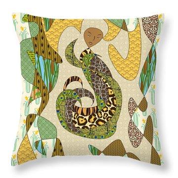 Alligator Throw Pillows