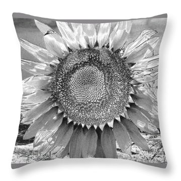 Mother Earth Unloved Throw Pillow