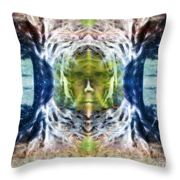 Mother Nature Love Throw Pillow