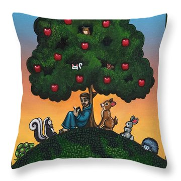 Mother Natures Son II Throw Pillow by Victoria De Almeida