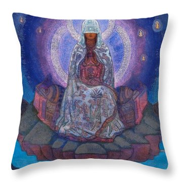 Mother Of The World Throw Pillow