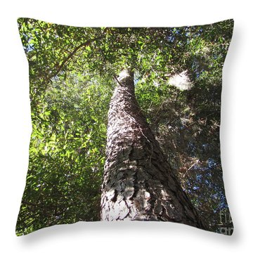 Mother Pine Throw Pillow