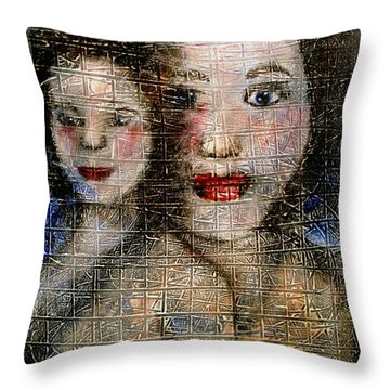 Motherly Love Throw Pillow by Natalie Holland