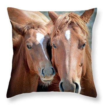 Mothers Love Throw Pillow by Athena Mckinzie