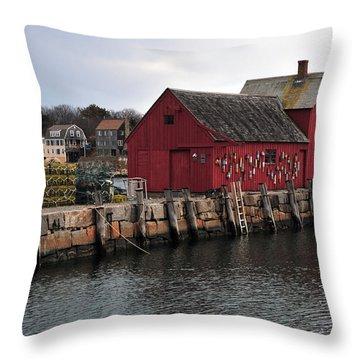 Motif # 1 Throw Pillow by Mike Martin