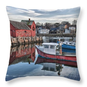 Motif 1 Sky Reflections Throw Pillow