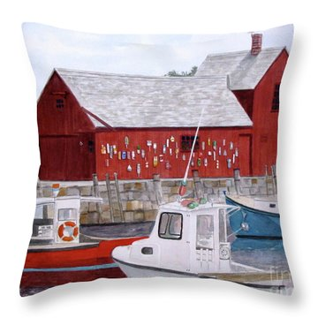 Motif No 1 Throw Pillow by Carol Flagg