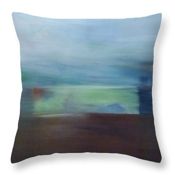Motion Window Throw Pillow