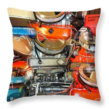 Motor City Throw Pillow