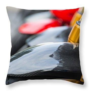 Motorbikes Throw Pillow