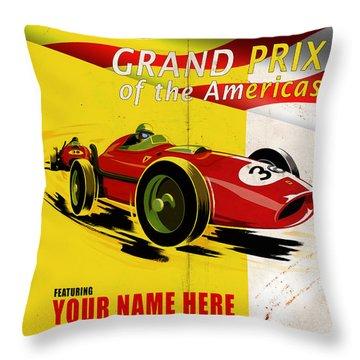 Customized Car Throw Pillows
