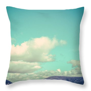 Motorhome Or Rv Holiday Throw Pillow