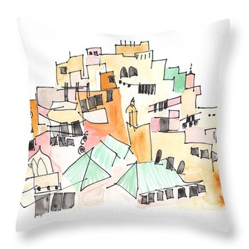 Moulay Idriss Throw Pillow