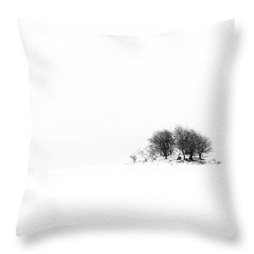 Mound Throw Pillow by Gert Lavsen