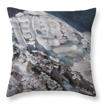Mount Kailash Throw Pillow