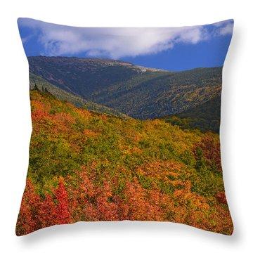 Mount Lafayette Throw Pillow