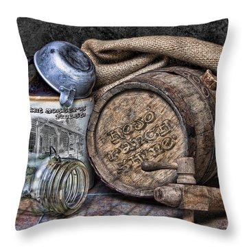 Mount Mossers Finest Throw Pillow