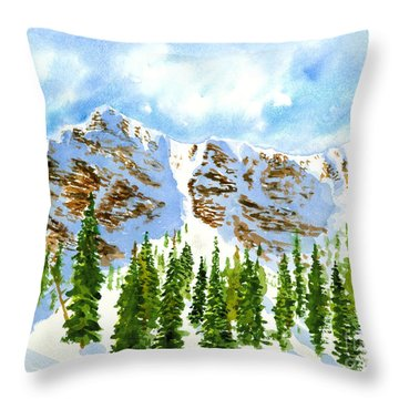 Mount Ogden Throw Pillow