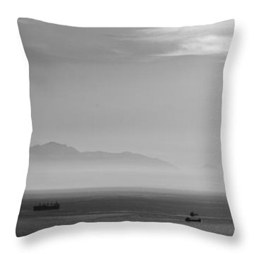 Mount Olympus Greece Throw Pillow by Sotiris Filippou