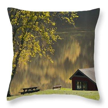 Mount Pisgah Throw Pillow