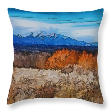 Mount Princeton Throw Pillow