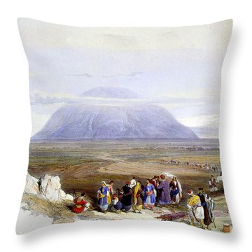 Mount Tabor Throw Pillow