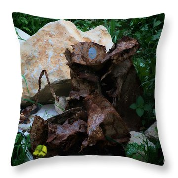 Mount Trashmore - Series Xvi Throw Pillow