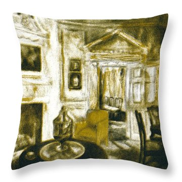 Mount Vernon Ambiance Throw Pillow by Kendall Kessler