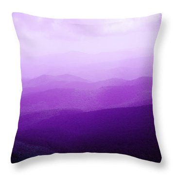 Throw Pillow featuring the photograph Mountain Dreams by Kim Fearheiley