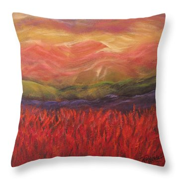 Mountain Dreams Throw Pillow