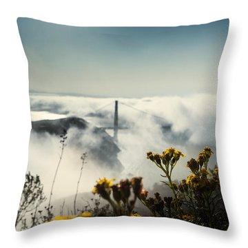 Mountain Of Dreams Throw Pillow