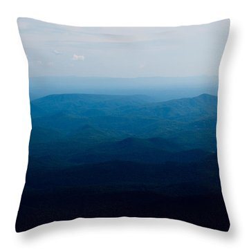 Throw Pillow featuring the photograph Mountain Peak by Kim Fearheiley