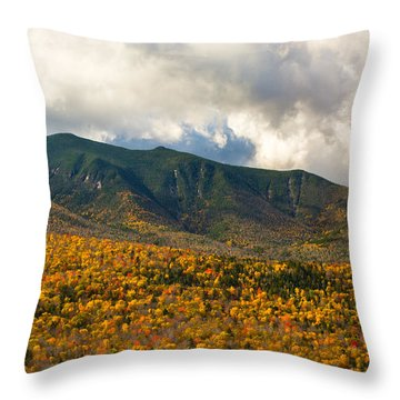 Mountain Power Throw Pillow