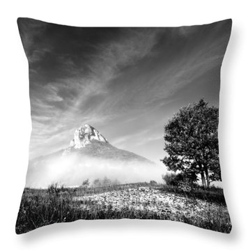 Mountain Zir Throw Pillow