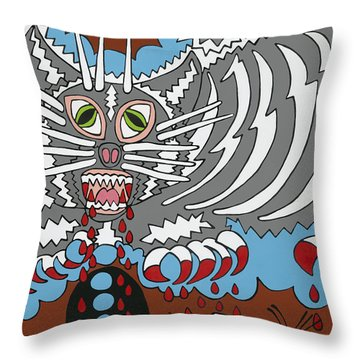 Mouse Dream Throw Pillow