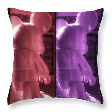 Mouse X4 Throw Pillow