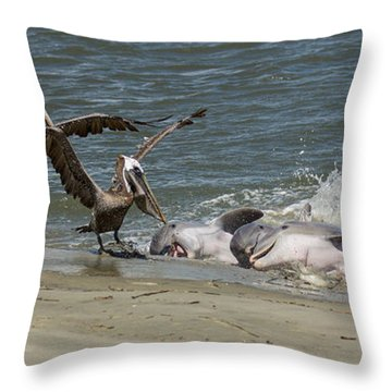 Moveable Feast Throw Pillow