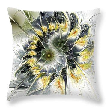 Movement Throw Pillow by Anastasiya Malakhova