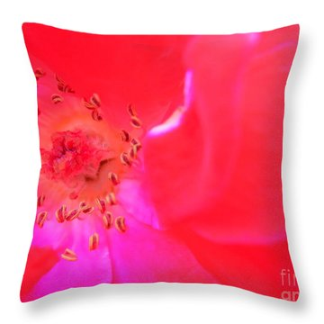 Movement Of The Heart Throw Pillow