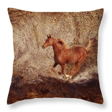 Movin' On Throw Pillow